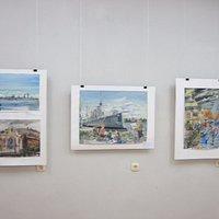 Выставка картин Питерских и Кроншдатских художников
