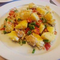 Ensalada de patatas de verano
