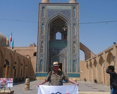 Mr.Tom Young in Iran