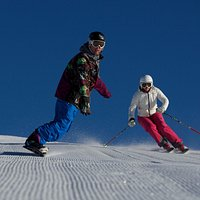 Skiing, snowboarding, come and get the goods!