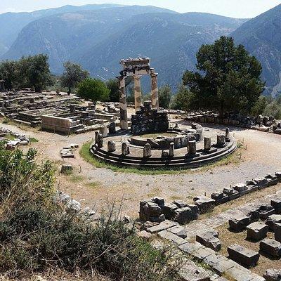 Delphi: Sanctuary of Athena