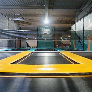 Trampoline Parc pour enfants adultes Aubergenville Yvelines Fitness Yvelines