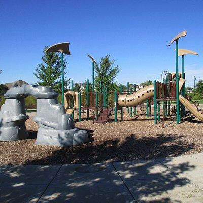 Great playground equipment