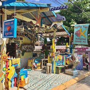 West End village store front