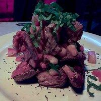 Tender meat..