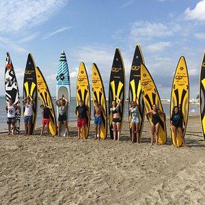Paddlesurf team