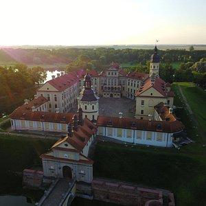 Nesvizh Palace, early morning