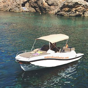 Majorca Boat Charter - Boats with or without License! Be your own Captain for a day!