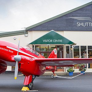 The Shuttleworth Collection, with race winning 1934 DH88 Comet