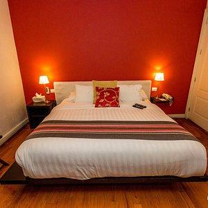 The Cozy Room at the Hotel Villa Condesa