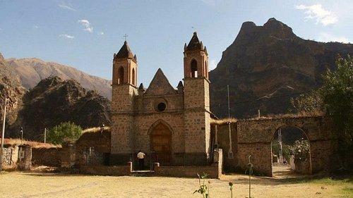 iglesia de la hacienda yaca