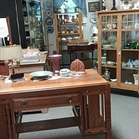 Great selection of antiques and reasonably priced