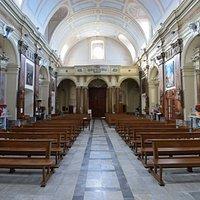 Navata Chiesa Immacolata Concezione, vista dall'altare.