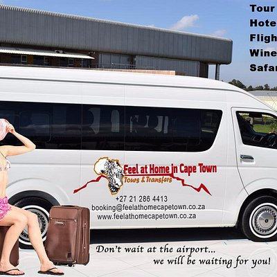 Find the best deal on getting to and from the airport with Feel atHomeincapeTown We do all major