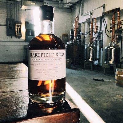 American Whiskey as still life.
