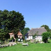 Dorfmitte von Middelhagen