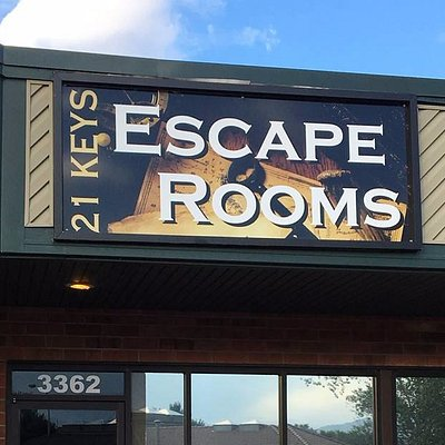 Exterior 21 Keys Escape Rooms
