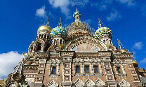 Church of the Saviour of the Spilled Blood.