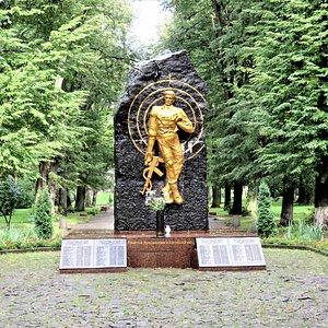Ивано-Франковск. Мемориал памяти погибшим в Афганистане.