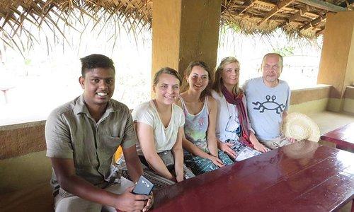 village safari at Habarana