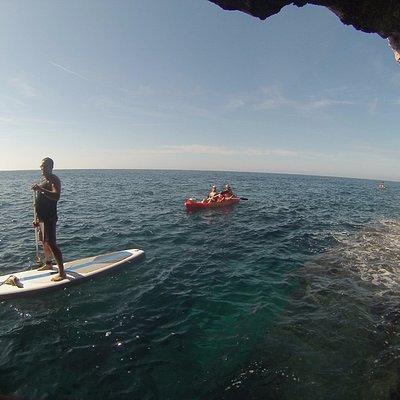Excursion cuevas- Cales Coves Talayotica