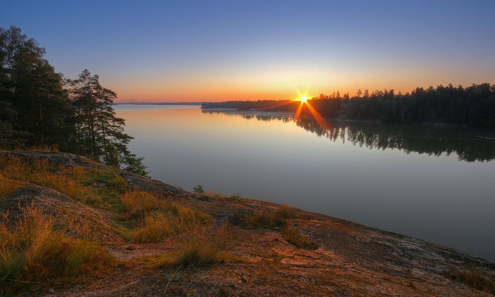Sunrise at Lake Tuusula
