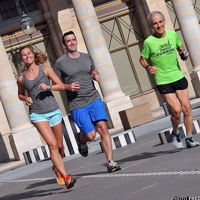 Paris Running Tour in the Palais Royal