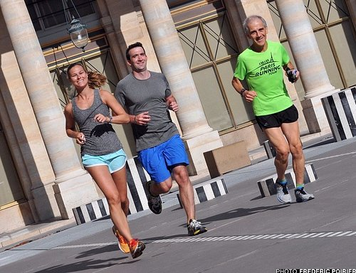 Paris Running Tour in the Palais Royal