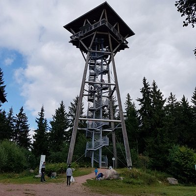 Der Riesenbühlturm.