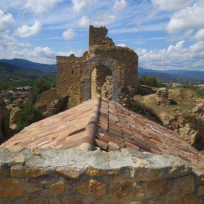 Vista desde lo alto del Castillo de Palafolls
