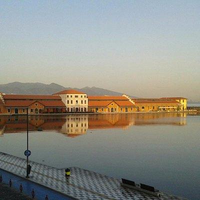 Konak Pier de sıradan bir sabah..
