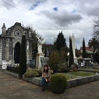 Muy lindo el cementerio alemán!!