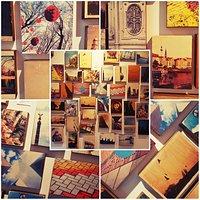 Caro Berliner Art creates art photography on wood. Amazing art wall!