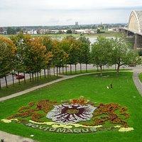 view from Rijksmonument Waltoren Belvedere Nijmegen