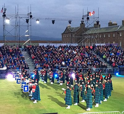 Fantastic Inverness Highland Military Tattoo!