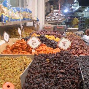 dried fruits.