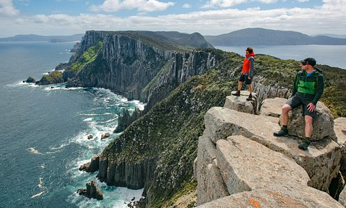 Three Capes Track - Cape Pillar and the Blade. Photo by: Tasmania Parks and Wildlife Service