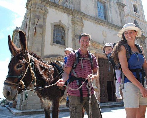 Savoca the god Godfather donkey trekking tour