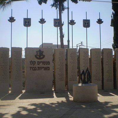 Memorial site in the museum.