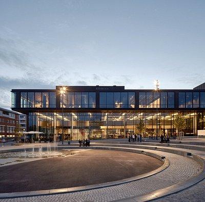 Hamar Kulturhus. Photo: Mads Frederik Christensen