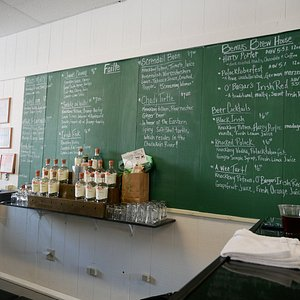 our wall of signature drinks!