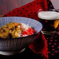 Kare Raisu: Guiso de curry con verduras y arroz
