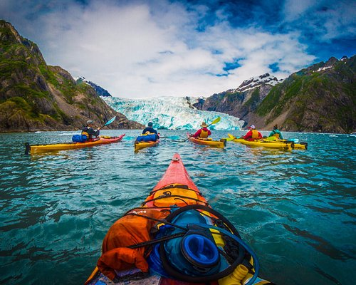 Heading into Holgate glacier!