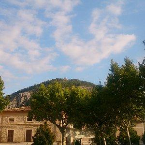 View from Plaça Mayor