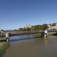 vue de Béziers à partir du Pont Canal