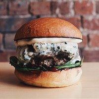The Worcester Blue Burger