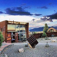 Entrance to the Taos Mesa Brewing Mothership