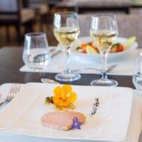 Foie gras de canard et sa gelée au gewurztraminer