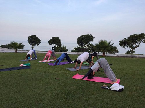 Yoga and nature to recharge