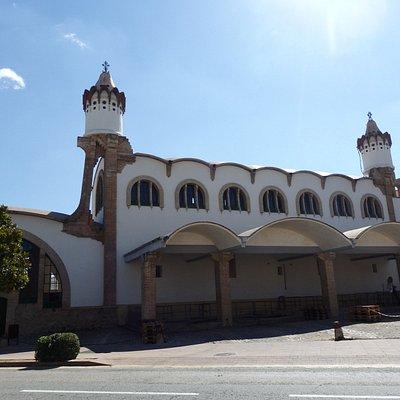 Celler de Gandesa, exterior.
